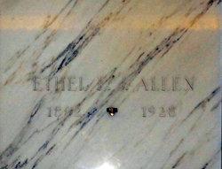 Ethel Eleanor Jane <i>Porter</i> Allen