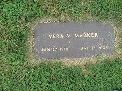 Vera Virginia <i>Robinson</i> Marker