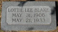 Lottie Lee Blake