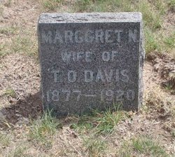Mrs Marggret N <i>Smith</i> Davis