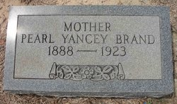 Pearl Frances <i>Yancey</i> Brand