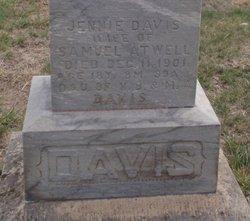 Mrs Maria Jennie <i>Davis</i> Atwell