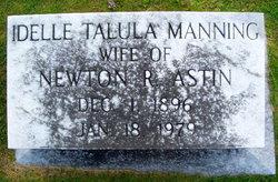 Idelle Talula <i>Manning</i> Astin