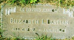 Elizabeth L. <i>Zick</i> Bastian