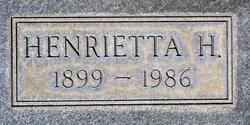 Henrietta <i>Hatch</i> Baker