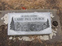 Larry Paul Church