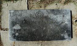 Orlin E Abell