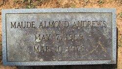 Maude <i>Almond</i> Andrews