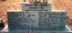 Sidebottom Cemetery at Washburn Point
