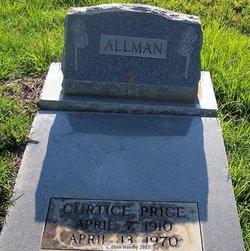 Curtice <i>Price</i> Allman