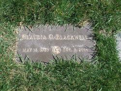 Claudia <i>Cluff</i> Blackwell
