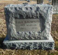 Ella <i>Browning</i> Morgan