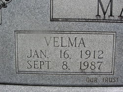 Velma <i>Blackwell</i> May