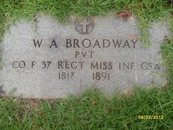 W. A. Broadway