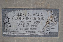 Sherri M <i>Waits</i> Goodson-Crook