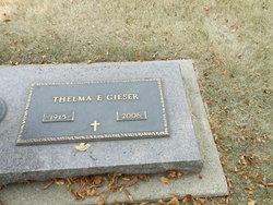 Thelma E. <i>Wemer</i> Gieser