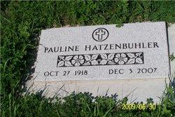 Pauline M. <i>Miller</i> Hatzenbuhler