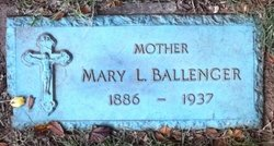 Mary Louise <i>Sutton</i> Ballenger