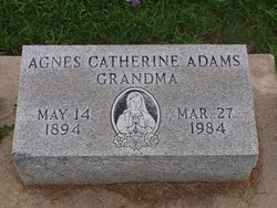 Agnes K Adams