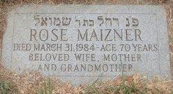 Rose <i>Meizel</i> Maizner
