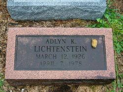 Adlyn Florabelle <i>Kremer</i> Lichtenstein