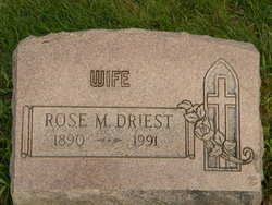 Rose Marie <i>Loose</i> Driest