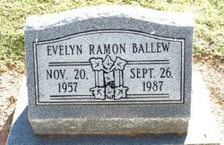 Evelyn Elizabeth <i>Ramon</i> Ballew