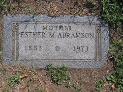 Esther M Abramson