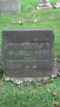 Jennie E Shaw