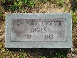 Martin William Gobbler Jones, Sr
