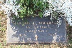 Harold LeRoy Hon Anderson