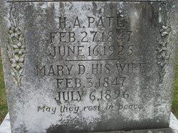 Mary Dorcas <i>Oelze</i> Pate
