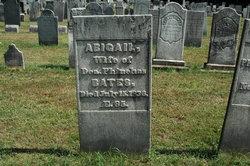 Abigail <i>Lincoln</i> Bates