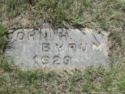 John Henry Byrum