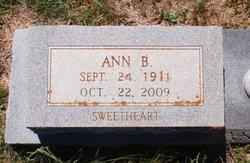 Ann B. Asher
