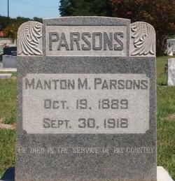 Manton M. Billy Parsons