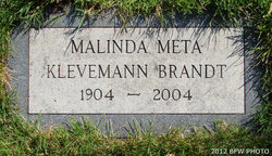 Malinda Meta <i>Petersen</i> Brandt