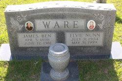 James Benjamin Ben Ware