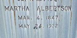 Martha L <i>Thompson</i> Albertson