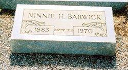 Ninnie Belle <i>Hutcheson</i> Barwick