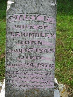 Mary Frances <i>Fulkerson</i> Kimbley