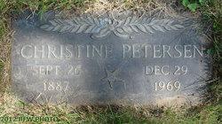 Georgine Christine Christine <i>Neilsen</i> Petersen