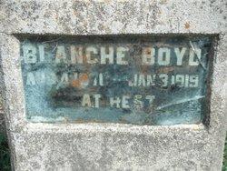 Mary Blanche <i>Jenkins</i> Boyd