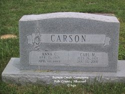 Anna Caroline <i>Reynolds</i> Carson