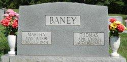 Martha Elizabeth <i>Sparks</i> Baney