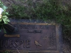 Dorothea Mae <i>Hayes</i> Gillespie