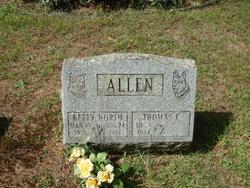 Betty Lou <i>North</i> Allen