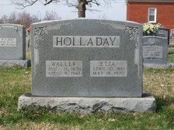 Mary Etta <i>Conover</i> Holladay