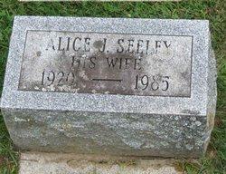 Alice J <i>Seeley</i> Backus