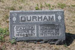 Emma <i>Eastburn</i> Durham